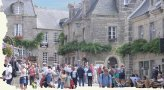 Square of Locronan-Finistère-Brittany - Finistère - Brittany